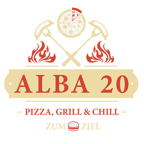 ALBA20 `Zum Ziel´ Logo